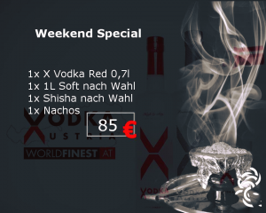 Meduisa Shisha Lounge Weekend Aktion